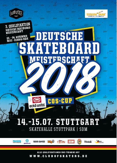 Ecko Unltd. COS Cup – Die Süddeutsche Skateboard-Meisterschaft zum ersten Mal in Stuttgart!