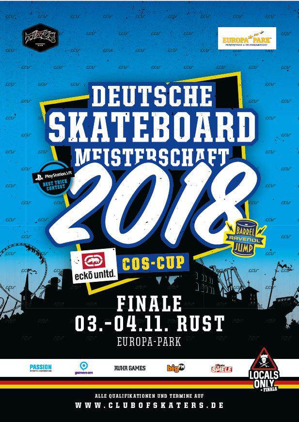 Ecko Unltd. COS Cup 2018 – Die Deutsche Meisterschaft in Rust rückt näher !