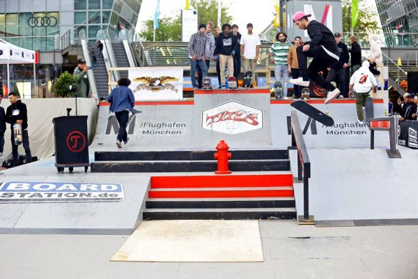 Best Trick Winner Gökhan Eray Backfoot Flip to Frontside Boardslide