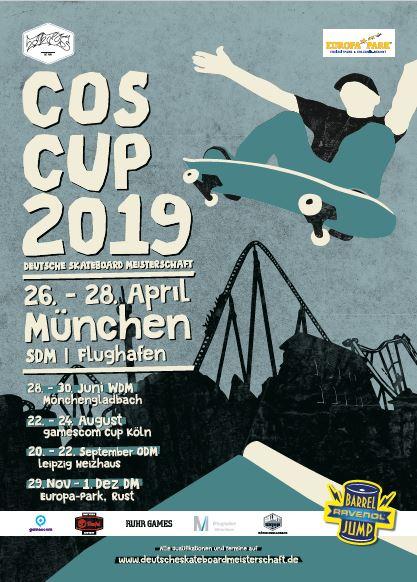 Die Süddeutsche Skateboard-Meisterschaft checkt am Flughafen München ein