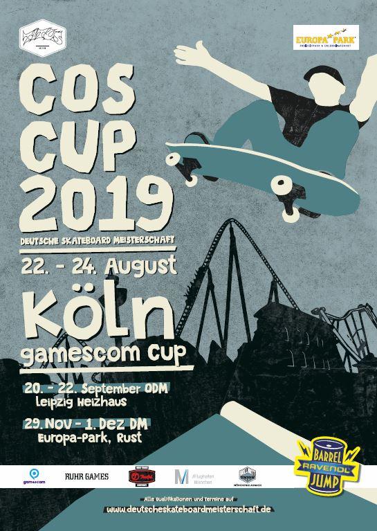 COS Cup 2019 – Der legendäre gamescom Cup in Köln ist der vorletzte Stop auf dem Weg zur 22. Deutschen Meisterschaft!