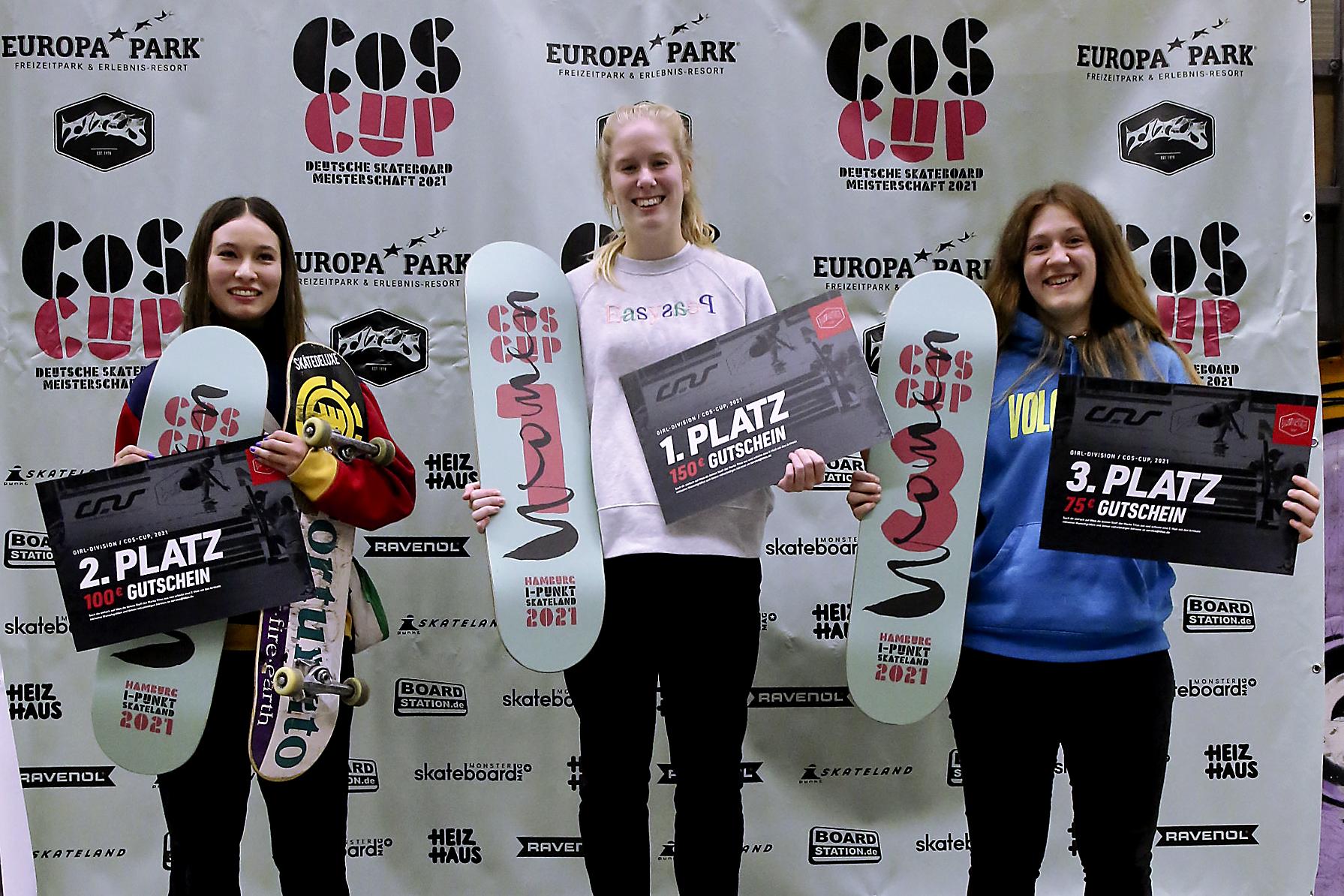 Mika Möller, Amelie Tiedeken und Kevin Hegemann gewinnen den 2. COS Cup Stop 2021!